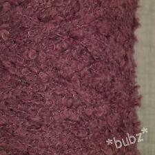 SUPER SOFT KID MOHAIR Merino Wool Mauve 500g CONO 10 SFERA ANELLO Boucle Filato LILLA