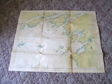 1946 War Dept St Lawrence River Map Stony Point Clayton NY Engineer Corps #4
