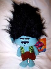 """Dreamworks Trolls 10"""" Branch Plush-RARE Grouchy Branch Plush-New with Tags!"""