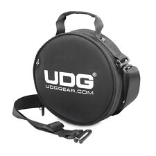 UDG Ultimate DIGI Headphone Bag Black for DJ Headphones + USB Sticks, Cables etc