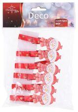 Confezione 6 mollette natalizie Pupazzo di neve Christmas Gifts
