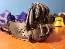 Máscara de Bane-Negro Regular, filtrado, Con Correas Para Disfraz y Juegos con disfraces