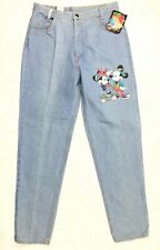 Mickey Mouse Unlimited Disney Denim Blue Jeans Women's Size 13