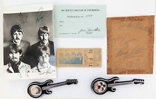 .RARE LOT BEATLES MEMORABILIA. SIGNED PHOTO, AUTOGRAPHS FROM THE CAVERN CLUB ETC