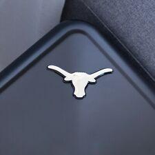 "Texas Longhorns 3D Chrome Auto Emblem – (4.2"" x 3"") - Decal For Cars Trucks SUVs"