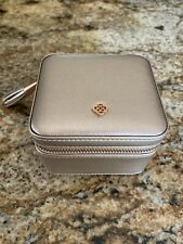 Kendra Scott Small Jewelry Travel Case In Rose Gold