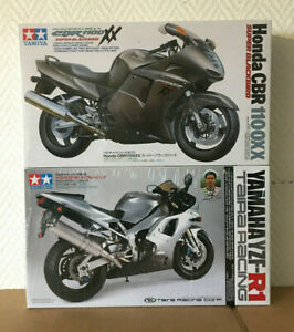 Tamiya moto 1/12 honda, yamaha. une moto au choix. 14070, 14074.