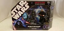 STAR WARS THE FORCE UNLEASHED EMPEROR PALPATINE WITH SHADOW STORMTROOPERS SET