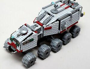 Lego Star Wars 7261 Clone Turbo Tank mit Figuren Anleitung und OVP #1911