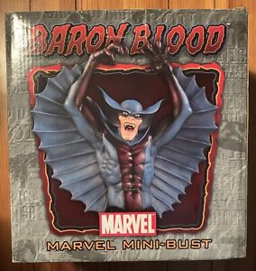 BARON BLOOD Mini-Bust Bowen Designs Marvel 96/1500 Captain America NEW Vampire