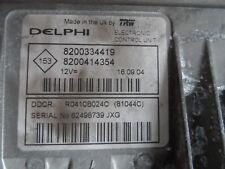 CALCULATEUR DE MOTEUR A REPROGRAMMER RENAULT MEGANE SCENIC  DELPHI DDCR 1.5 DCI