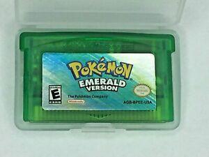 Nintendo Gameboy Advance (GBA) Pokemon Emerald Video Game Cartridge