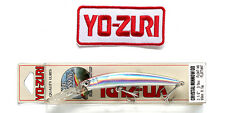 Original Yo-Zuri's 90mm R538-CR Crystal Minnow Deep Diver Lure + 1 iron-on patch