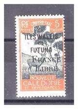 WALLIS ET FUTUNA.T N° 26 . 5 c  FRANCE LIBRE  SIGNE   OBLITERE .SUPERBE .
