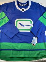 Adidas NHL Vancouver Canucks Authentic Third Jersey size 56 (2XL) (EH6719)