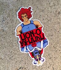 "Lion-O MummRa Thundercats Contour Cut Vinyl 4"" Sticker Slap Decal Indoor Outdoor"