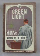 GREEN LIGHT LLOYD C DOUGLAS 1945 POCKET BOOK #175 PAPERBACK PB