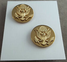 Us Army Unassigned Enlisted Vintage Collar Branch Insignia Sergeant Major 1969