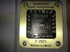 TAMURA F-2021 OUTPUT TRANSFORMER 5K pp 2a3 300b px25 JAPAN