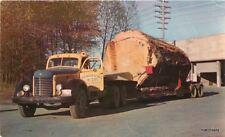 1950s Lumber Truck Mill Railroad Washington Smith Colorpicture postcard 7547