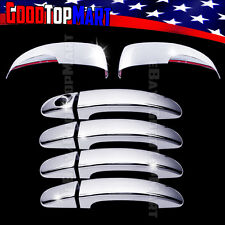 For Ford FOCUS 2012-2016 ESCAPE 2013-16 Chrome Covers Set Mirrors SIGNAL+4 Doors