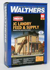 Walthers Cornerstone HO JC Landry Feed and Supply Building Kit 933-3662
