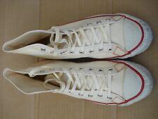 26d816ddd26fe8 Vtg Bata Shoes Mens Size 9.5 Off White Hi Made In U.S.A.