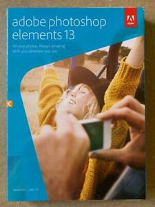 Adobe Photoshop Elements 13 (Win & Mac) - Factory Sealed