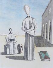 Giorgio de Chirico Italian 1888-1978 Lithograph Muse Inquietanti Ltd Edition