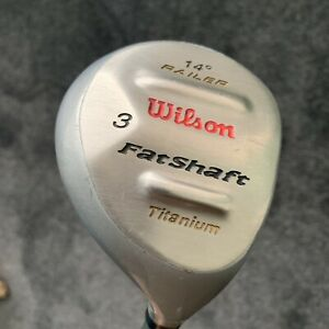 Wilson FatShaft 3 Wood 14 Degree Titanium Lite Flex FatShaft