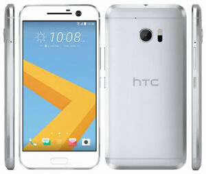 HTC 10 - 32GB - Glacier Silver (Vodafone and Virgin) Smartphone