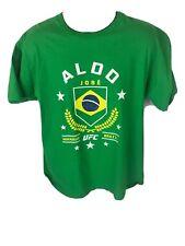 Jose Aldo UFC Green T Shirt Size XL
