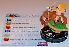 KA-ZAR #041 #41 The Incredible Hulk HeroClix Super Rare