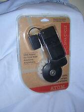Siva Cycle The Siva Atom Portable Bicycle / Bike Generator USB Charger Black NIP