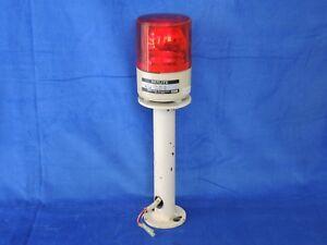 Patlite RS-24 Red Light Beacon 24 VDC revolving