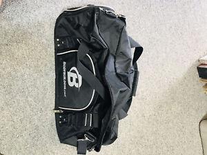 Bodybuilding.com gym bag.