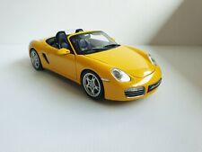 Porsche Boxster S 987 08381Y Kyosho 1/18 yellow jaune