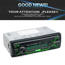 Bluetooth Auto Stereo Radio Audio MP3 Player FM USB SD AUX 1 DIN 7-Farben LED 1x
