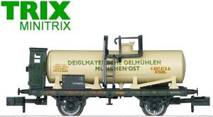 "Minitrix / Trix N 15555 Kesselwagen ""15 Jahre Club-Mitgliedschaft"" - NEU + OVP"