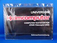 UNIVERSUM HEIMCOMPUTER --> COMPUTER TASTATUR FÜR ATARI 2600 / GEBRAUCHSANWEISUNG