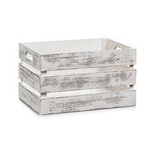 Caisse de Rangement Vintage bois Zeller 35 x 25 x 20 cm