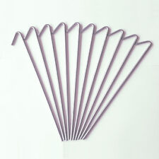 10 x Heringe 20 cm - Zeltheringe - Erdnägel -Zeltnagel - Metall verzinkt - TOP