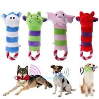 Cute Cartoon Plush Toy Chew Squeaker Squeaky Sound Play Toy for Pet Puppy Dog