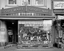 Photograph Vintage Sports Mart  Store Display 1920c  Washington DC 8x10