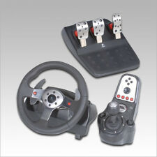 Logitech G25 Racing Wheel, Pedals, Shifter for PC or Playstation Exelent cond!