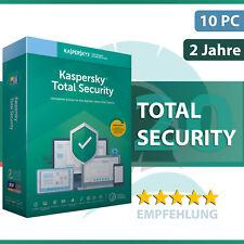 Kaspersky Total Security 2020 1 3 5 oder 10 Geräte 1 und 2 Jahre