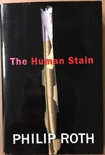 Philip Roth: THE HUMAN STAIN, 2000 HB/DJ, First Printing, Fine