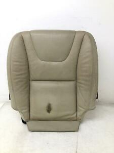 2012-2013 VOLVO S60 RIGHT FRONT SEAT LOWER CUSHION TAN LEATHER OEM