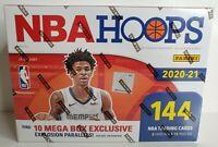 🔥 HOT! 2020-21 Panini NBA HOOPS Basketball MEGA BOX 🔥 LaMelo Rookie! BRAND NEW