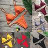 Sexy Padded Bra Bikini Set Swimsuit Women's Push-up Triangle Swimwear Bathing